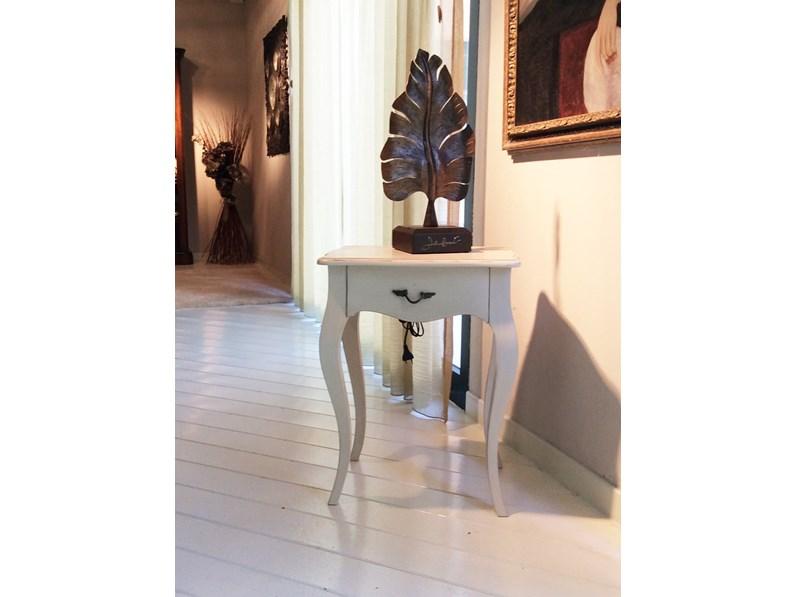 Complemento dialma brown tavolino laccato beige legno