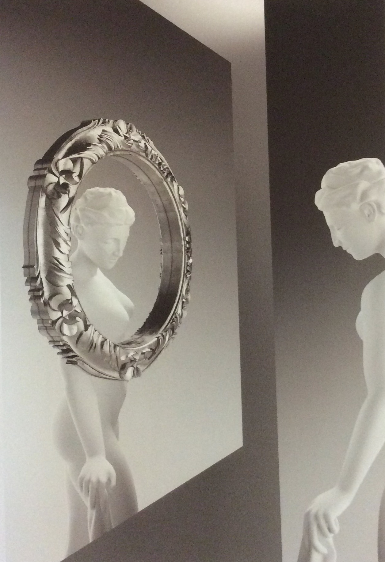 Complemento Fiam Italia Ritratto Design Vetro Specchi ...