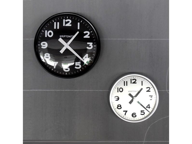 Complemento kriptonite orologio da parete alluminio design for Vendita on line design