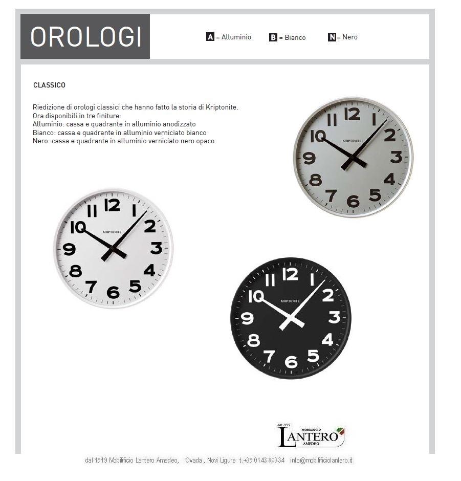 Kriptonite orologio da parete prezzi for Vendita on line design