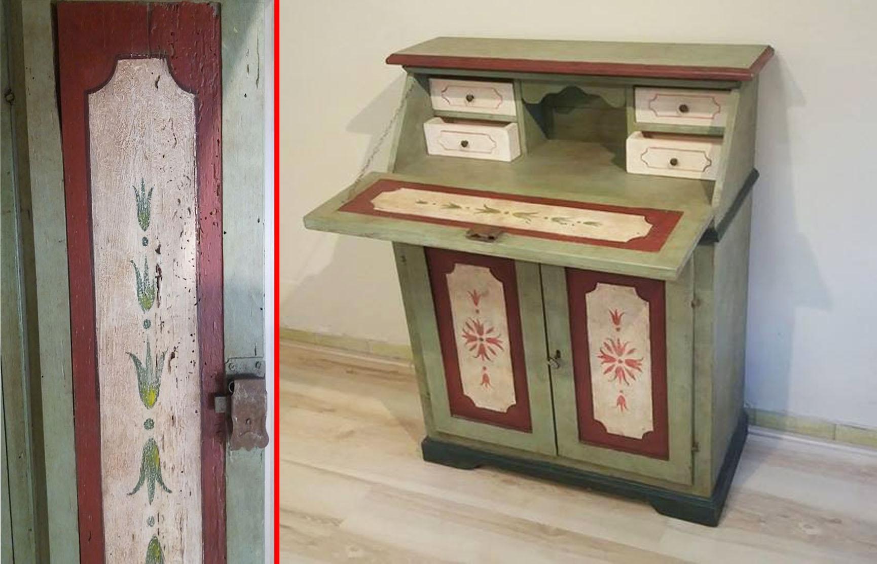 Complemento maggi segreter stile veneziano anticato - Mobili stile veneziano ...