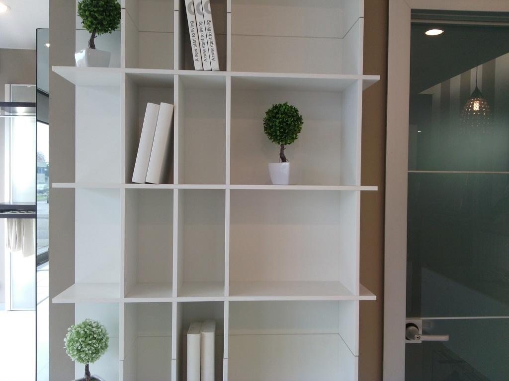 novamobili libreria slim complementi a prezzi scontati. Black Bedroom Furniture Sets. Home Design Ideas
