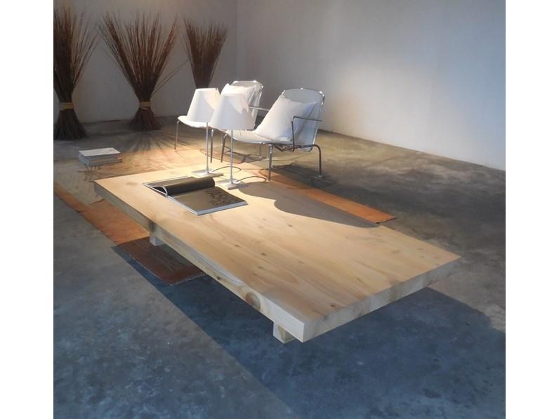 Riva 1920 Tavolini da salotto in legno cedro massello