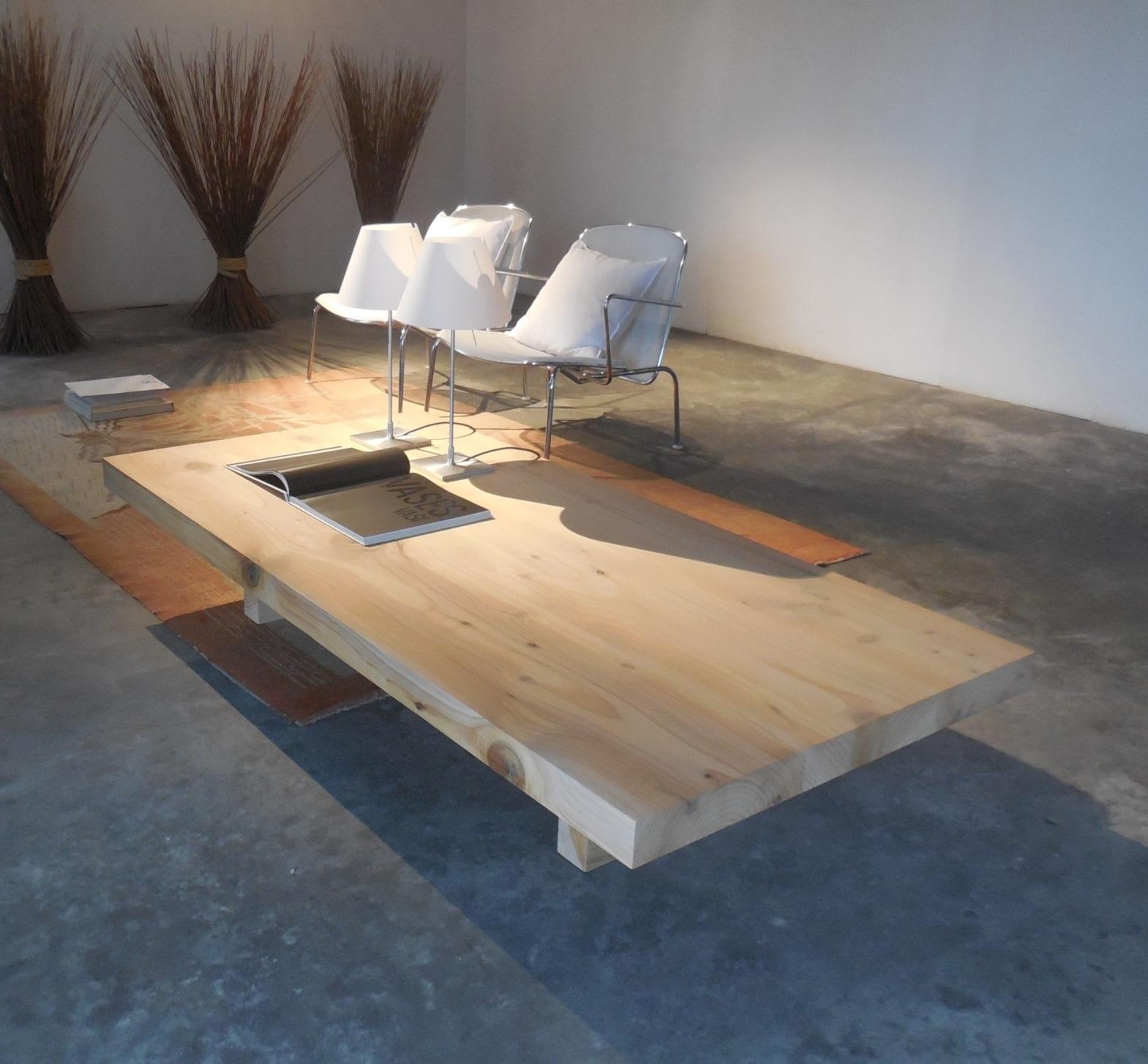 Complemento riva 1920 tavolini da salotto in legno cedro for Tavolini trasparenti da salotto