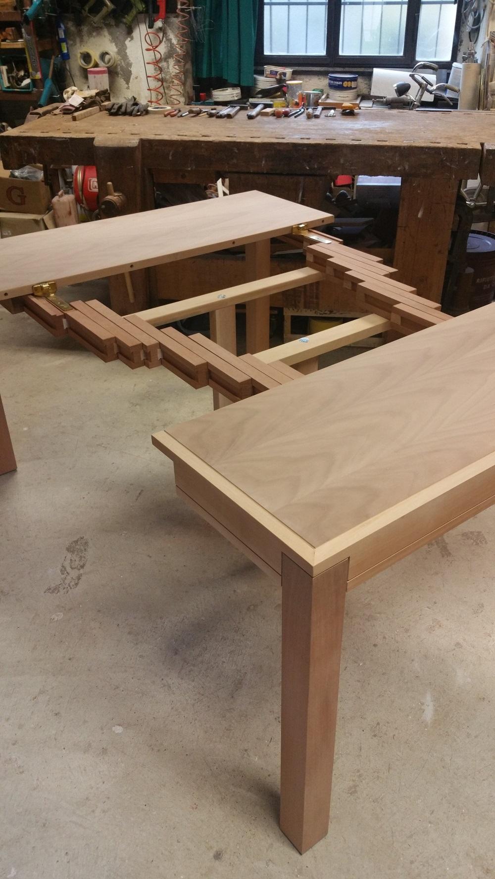Consolle allungabile in legno massello scontata del 30% impiallacciata ...