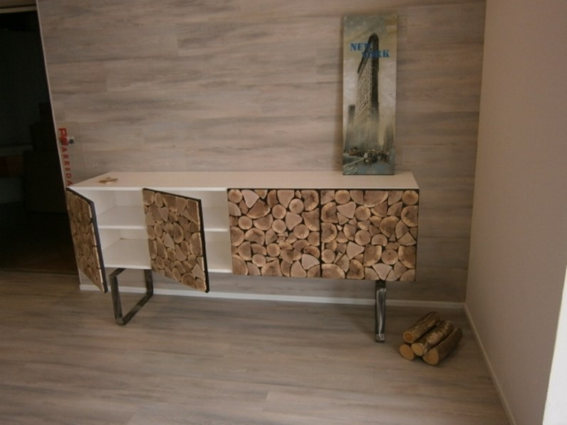 consolle design legno wood storage a prezzo outlet