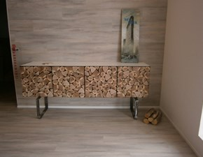 Consolle Design Legno  Wood-storage  a prezzo Outlet