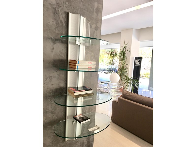 Consolle Espositore modello Harry di Gallotti & Radice in vetro in ...