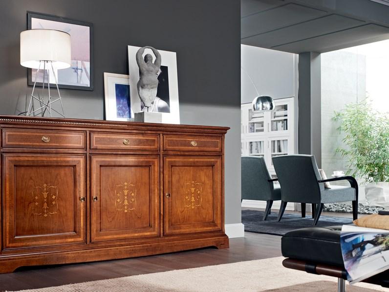 Consolle in stile Classico in legno Le fablier Ginestra
