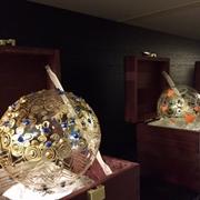 Diguel Sfere Artistiche in vetro soffiato ,Decorate a mano , commemorative annuali da collezione , oggetti d'arte esposti nel mondo
