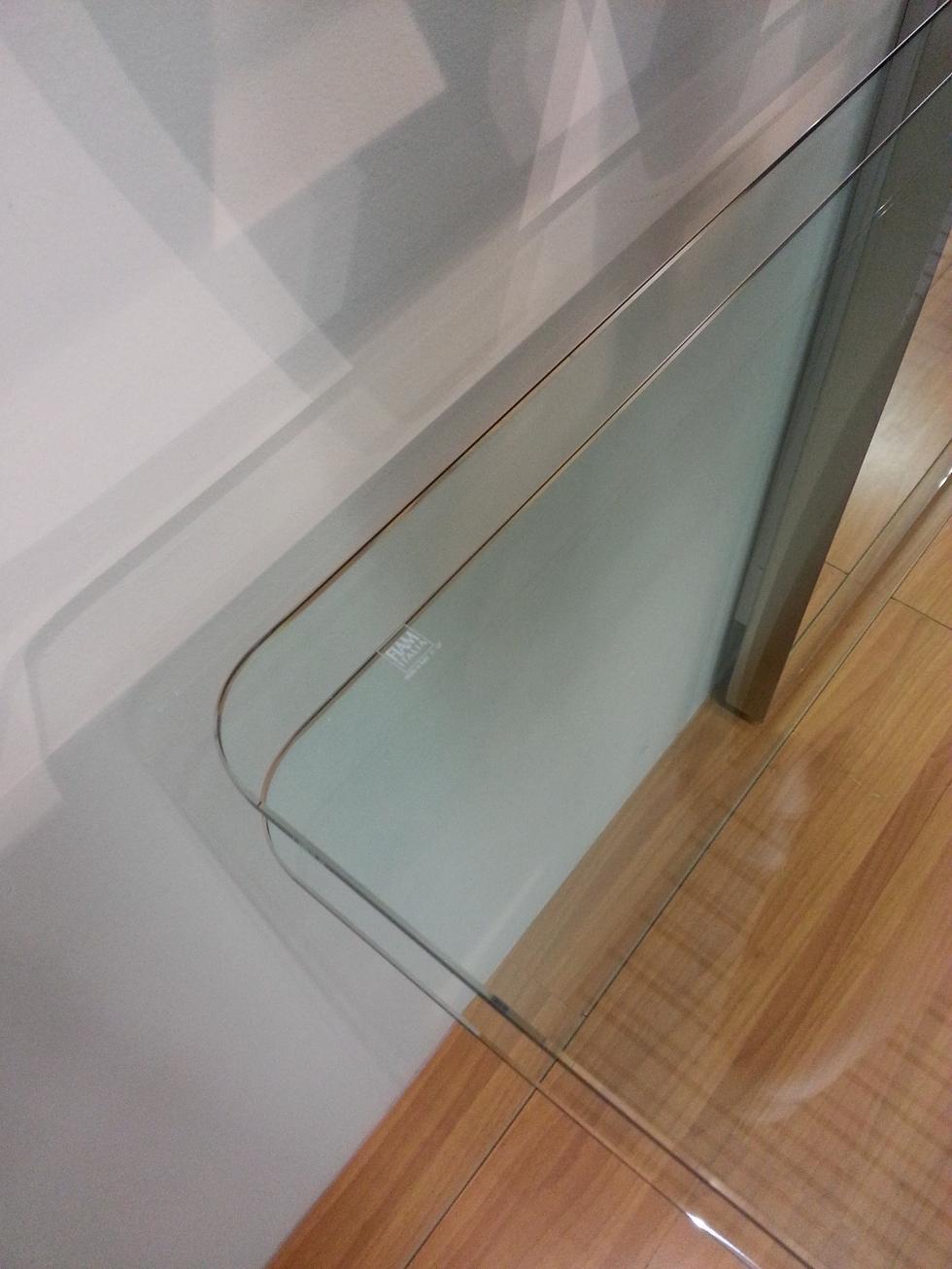 complemento fiam italia consolle con specchio. Black Bedroom Furniture Sets. Home Design Ideas