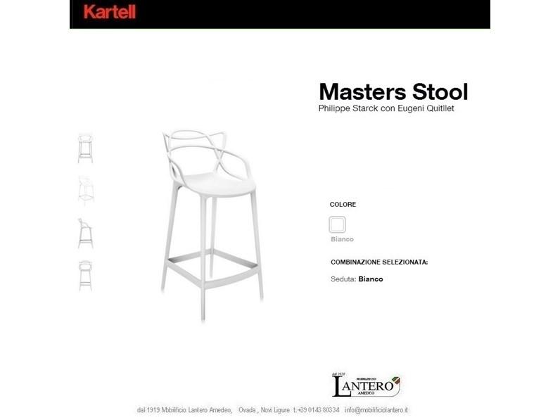 Complemento Kartell Vendita online kartell sgabelli masters stool ...