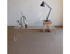 Complemento Kartell Small table ,invisible side, tavolino kartell