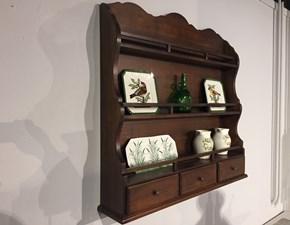 Mensola Gaia Tiferno in legno a prezzo Outlet