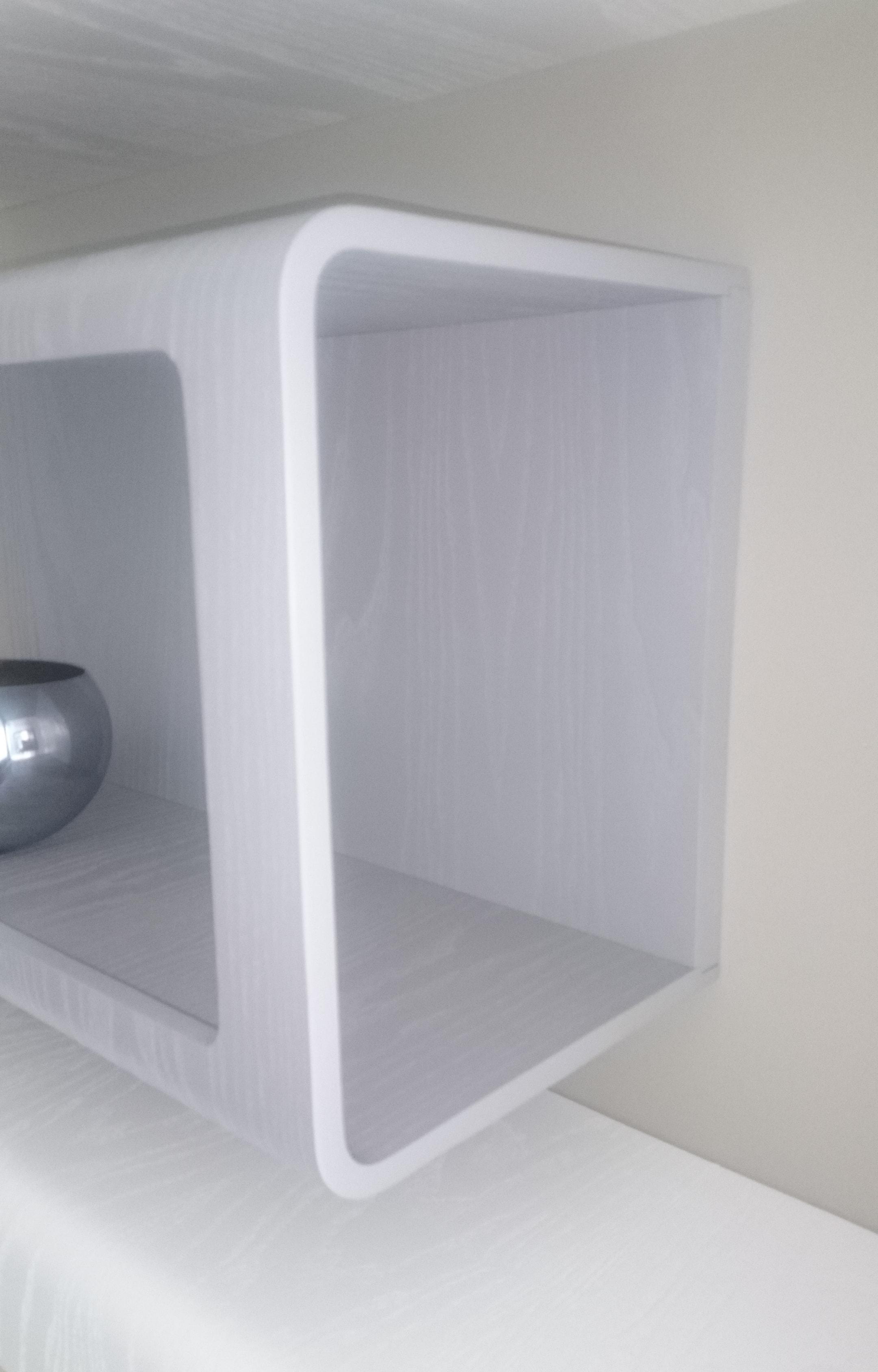 Mobili salotto porta tv con vetrina for Mensole prezzi