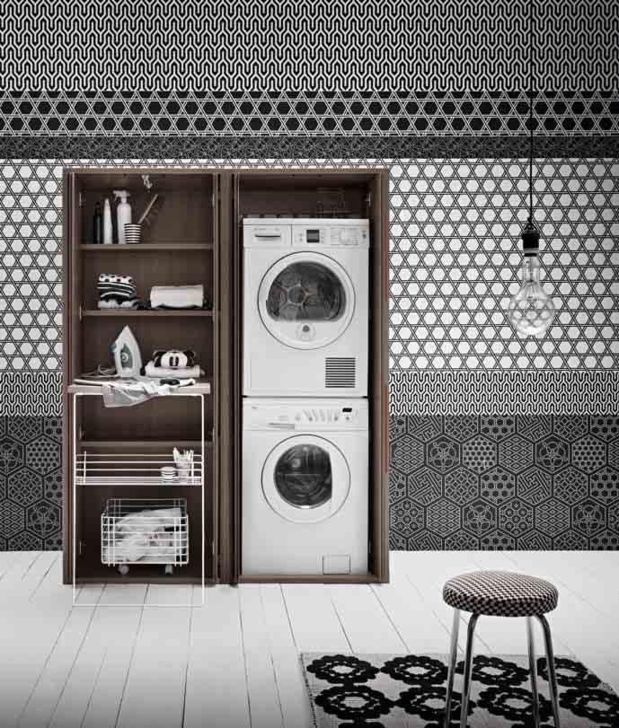 Mobile lavanderia in offerta complementi a prezzi scontati for Lavatrice doppio cestello