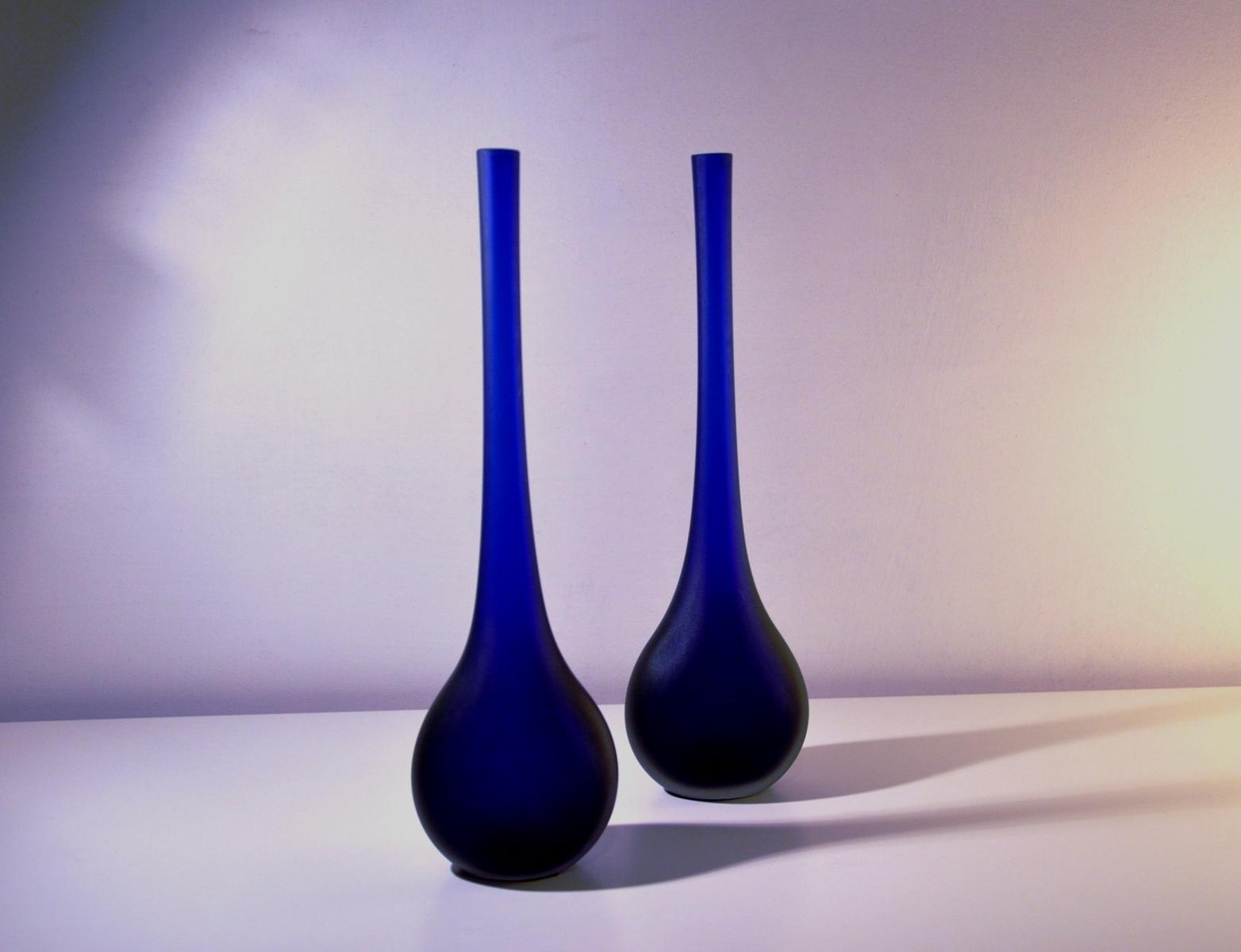 Offerta coppia vasi in vetro. - Complementi a prezzi scontati