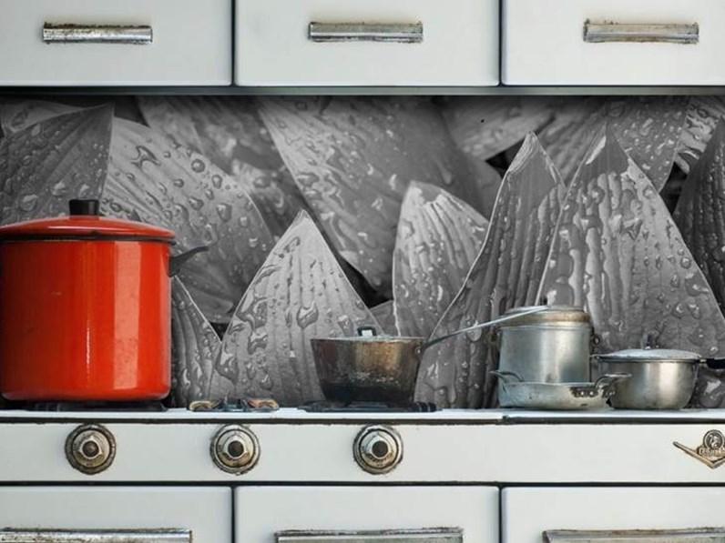 Carta da parati art kitchen in altro a prezzo scontato for Prezzo carta parati