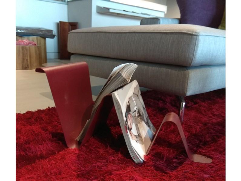 Porta riviste di design snake pezzani a prezzo ribassato for Riviste design