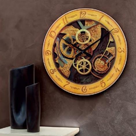 Orologio con serigrafia in vetro temperato, by Tonin Casa, nuovo a ...