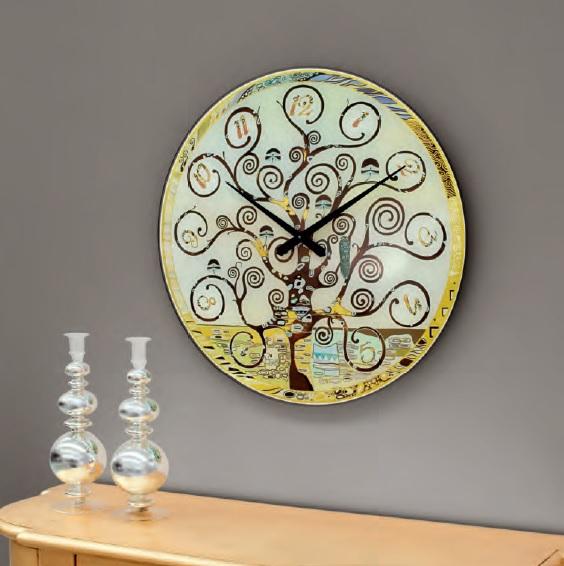 Orologio in vetro temperato con serigrafia, by Tonin Casa, nuovo a ...