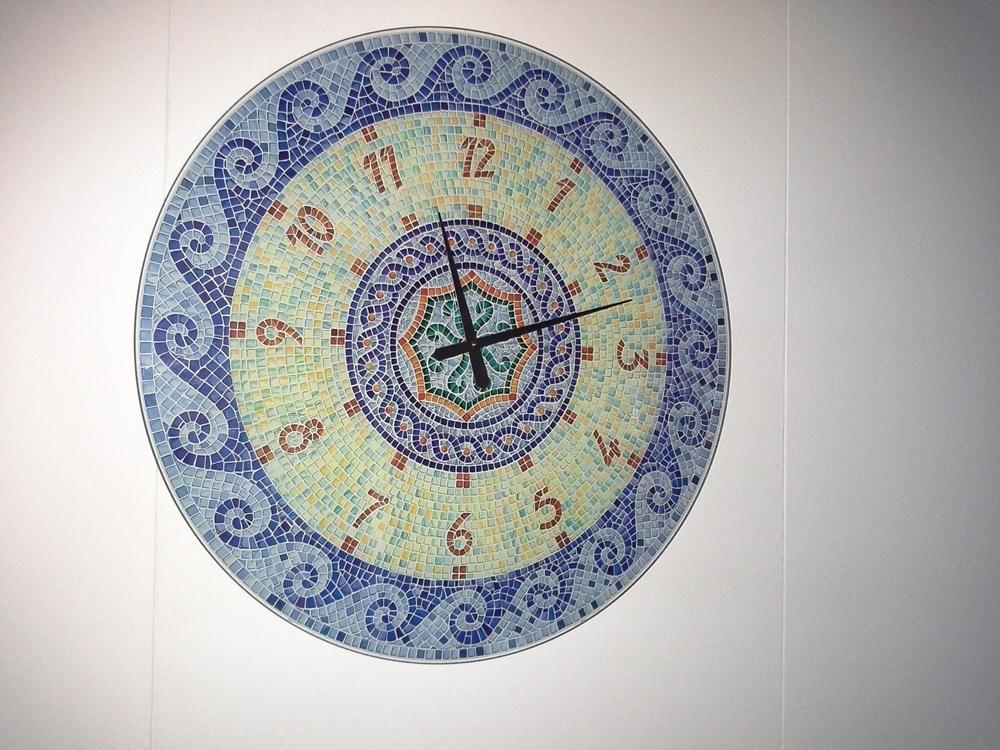 Orologio mosaico tonin casa complementi a prezzi scontati for Mosaico arredamenti