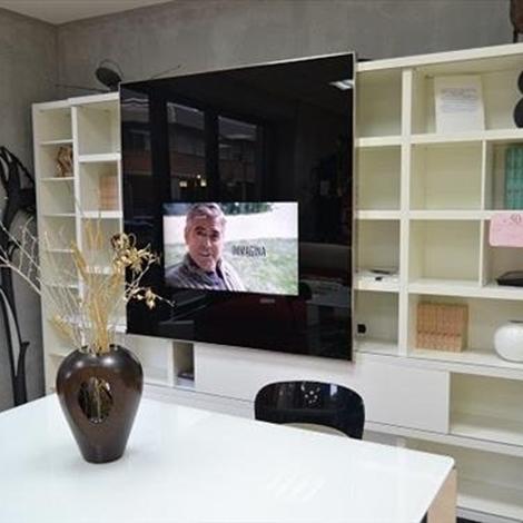 PARETE MD HOUSE CON TV LOEWE 6827 - Complementi a prezzi scontati