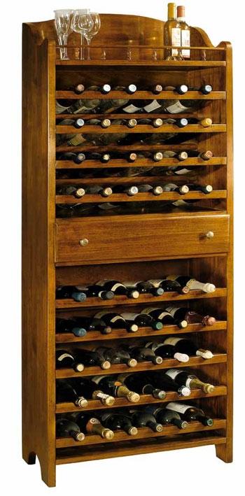 Porta bottiglie in legno complemento d 39 arredo for Mobile porta bottiglie