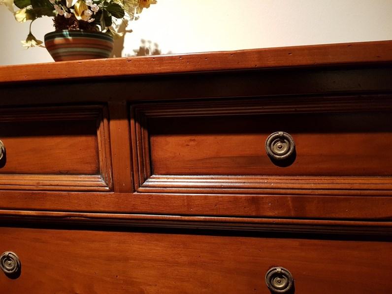 Porta tv legno classico La quercia arte povera scontato