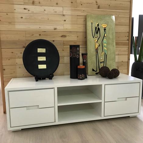 outlet Porta tv mayle banak importa legno bianco