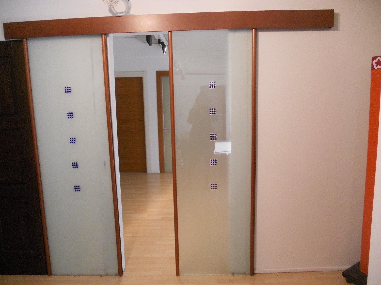 Porta vetro ciliegio complementi a prezzi scontati - Porta scorrevole vetro offerta ...