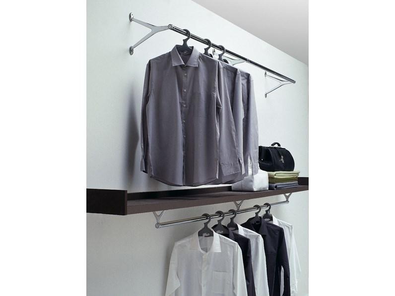 Porta abiti da parete modello ambrogio di caimi complementi a prezzi scontati - Portabiti da parete ...