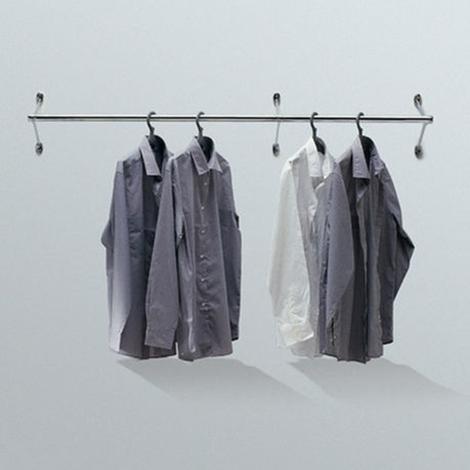 Porta abiti da parete modello ambrogio di caimi complementi a prezzi scontati - Porta abiti design ...