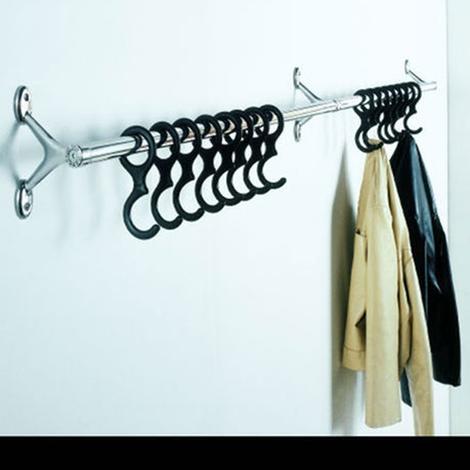 Porta abiti da parete modello ambrogio di caimi for Ikea porta abiti