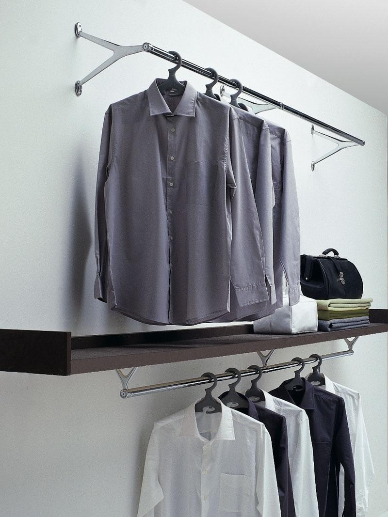 Porta abiti da parete modello Ambrogio di Caimi - Complementi a prezzi scontati