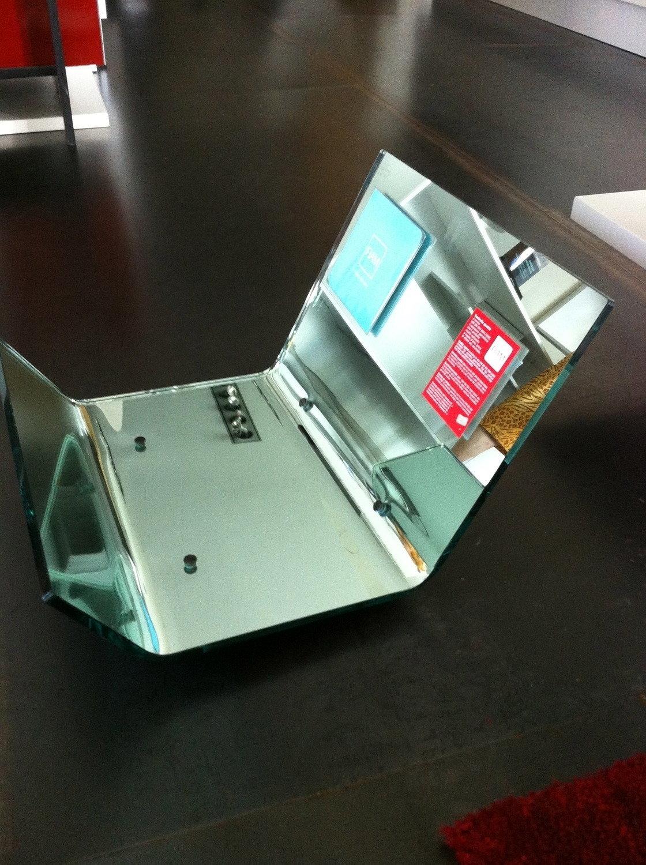 Portariviste specchio argento complementi a prezzi scontati for Specchio argento moderno