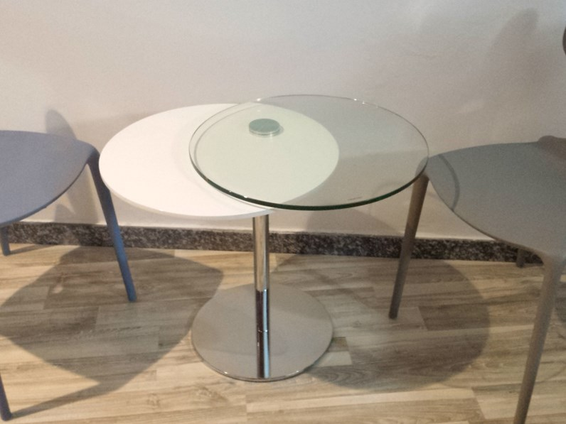 Pozzoli Tavolino Moderno Duplo