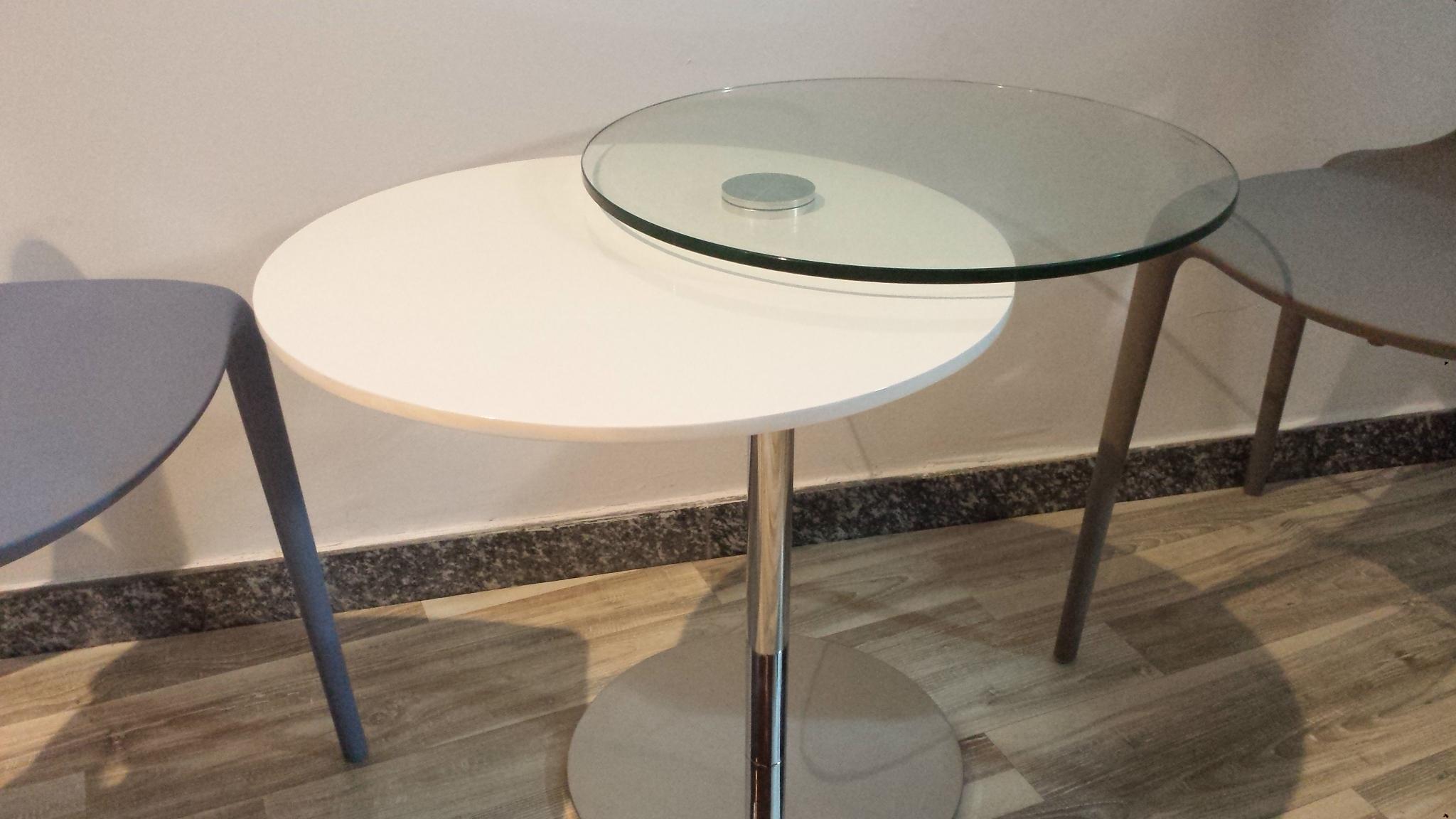Pozzoli Tavolino Moderno Duplo - Complementi a prezzi scontati