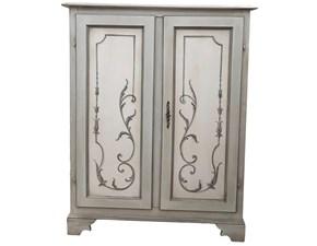 Scarpiere Artigianale Dispensa 2 porte  in legno a prezzo ribassato