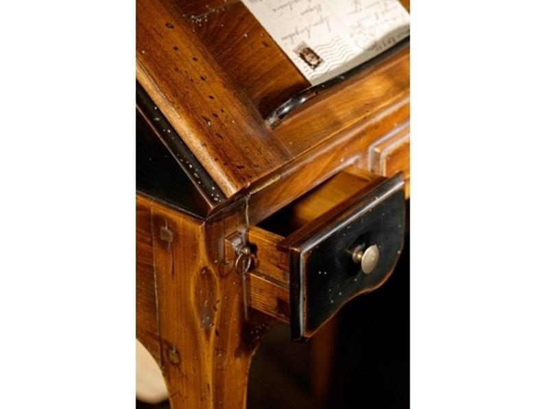 Scrittoio in legno massello Stella del mobile OFFERTA OUTLET