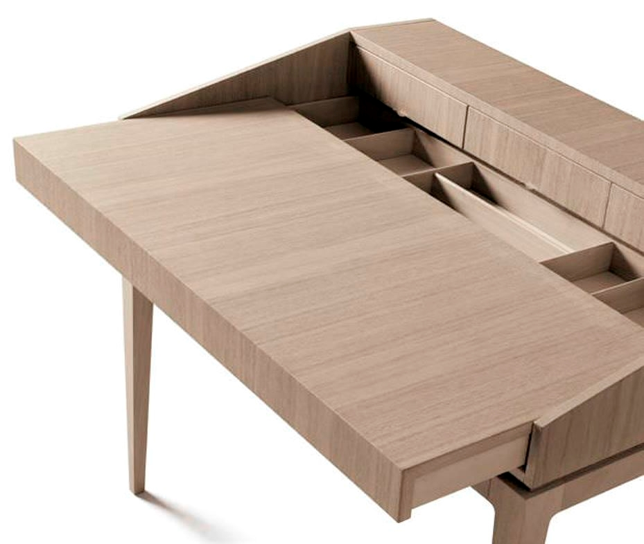 Scrittoio in legno massello - Complementi a prezzi scontati