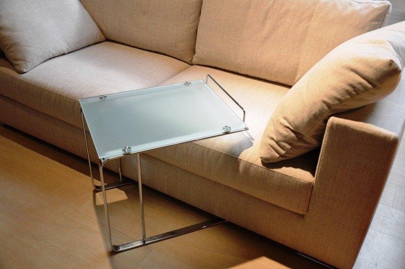 Complemento flai design batista design vetro tavolini - Tavolini per divano ...