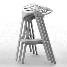 Sgabello stool one
