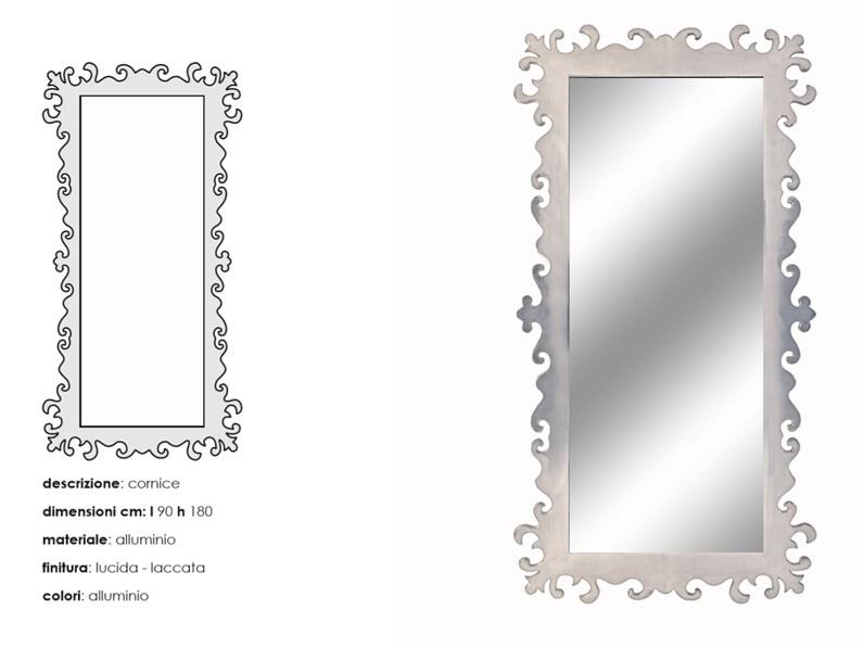 Specchiera gotham murtarelli salotti design a prezzo for Design scontato