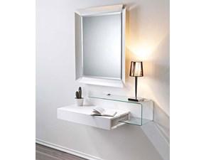 Specchiera in laccato opaco Specchio moderno Pezzani a prezzo Outlet