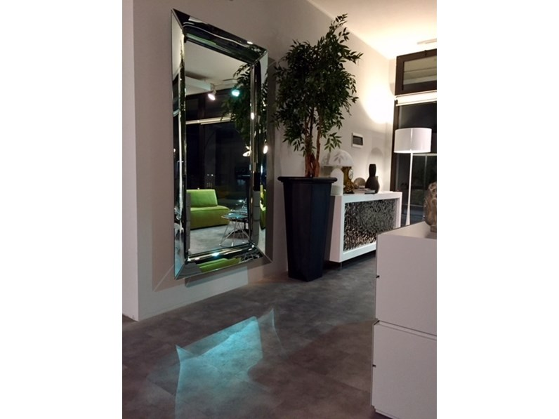 Accessori Bagno Philippe Starck.Specchiera In Stile Design In Vetro Fiam Italia Caadre Philippe Starck