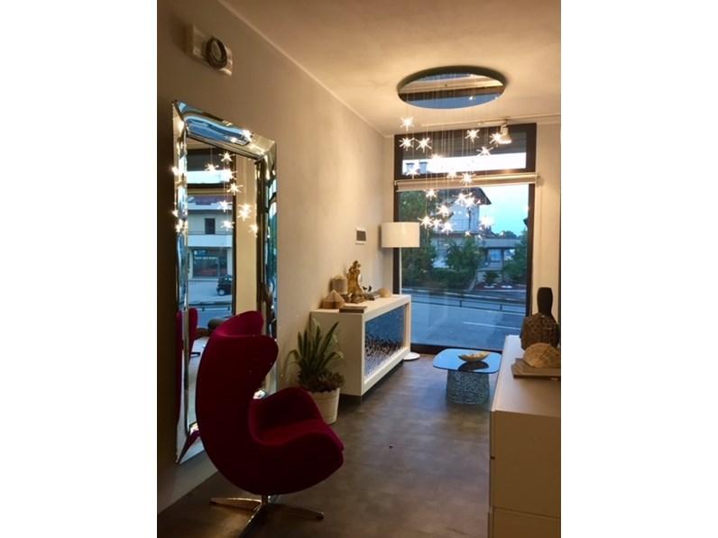 Tavoli In Cristallo Fiam Prezzi.Specchiera In Stile Design In Vetro Fiam Italia Caadre Philippe