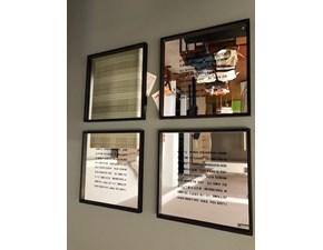 Specchiera in stile Design in vetro Flou Mini ti amo