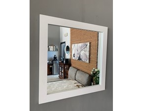 Specchiera stile Moderno Artigianale Specchio quadrato a prezzo ribassato