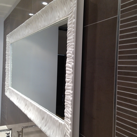 Specchio arbi in promozione complementi a prezzi scontati - Specchio cornice bianca ...